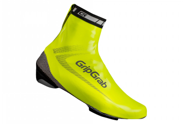 Paire de Couvre-Chaussures GripGrab RaceAqua Jaune Fluo Hi Vis
