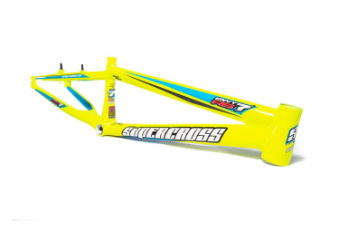 Supercross BMX Race Frame Envy RS7 Hi-Viz Yellow 2018