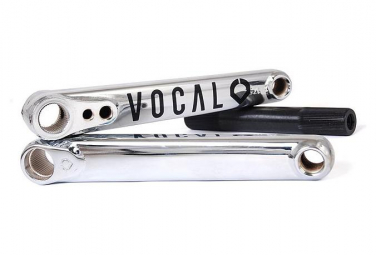 Pedalier 3 pieces vocal bmx valentine cp argent 175