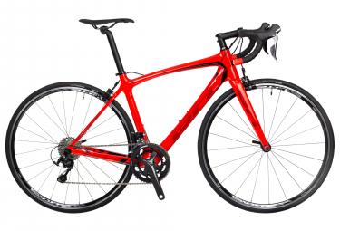 Velo de route bh fusion carbone shimano 105 11v rouge 2018 m 164 177 cm