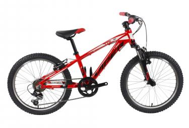 VTT Semi-Rigide Enfant Viper TR20 20'' Rouge 6 à 9 ans