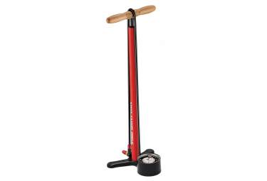 LEZYNE Steel Floor Drive Pump Gloss Red