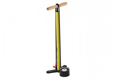 LEZYNE Steel Floor Drive Pump Gloss Yellow