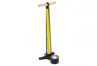 Pompe a pied lezyne sport floor drive 3 5 jaune