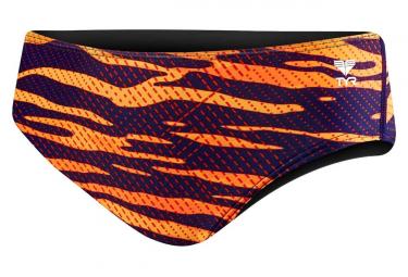 Banador Tyr Cripsis Racer Naranja Azul 34