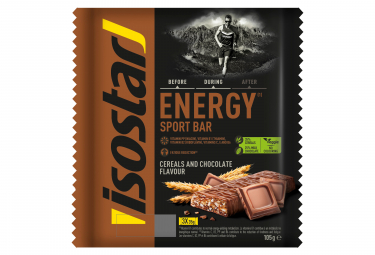 Barres energetiques isostar high energy chocolat 3x35g