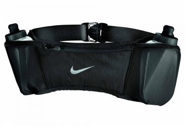 Ceinture Hydro Nike Double Pocket avec 2 Bidons 295 ml Noir