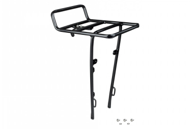 Electra Front Rack Commute Townie Black