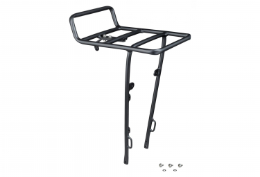 Electra Front Rack Commute Townie Black Anodized