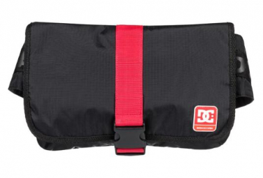DC Shoes Messenger Bag Nawson Bag Black / Red