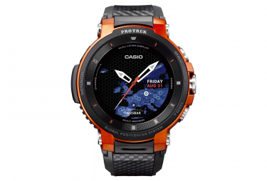 Casio Pro Trek Smart WSD F30 GPS Watch Orange Black