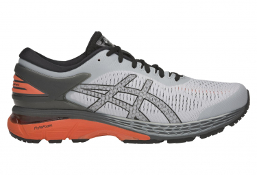 Asics Shoes Run Gel Kayano 25 Grey Orange