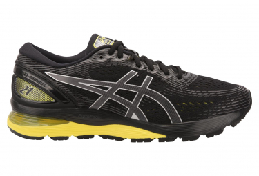Asics Shoes Run Gel Nimbus 21 Black Yellow