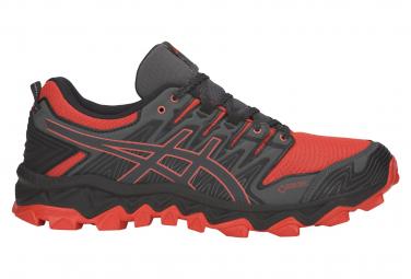 Asics Shoes Trail Gel FujiTrabuco 7 GTX Black Red