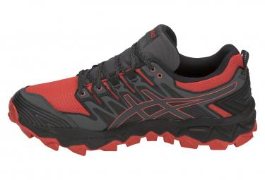 Asics Shoes Trail Gel FujiTrabuco 7 GTX Nero Rosso