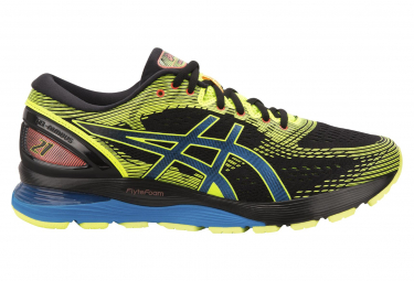 Asics Shoes Run Gel Nimbus 21 Nero Giallo