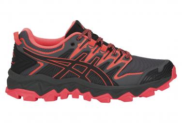 Asics Shoes Trail Gel FujiTrabuco 7 Black Pink Women