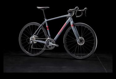 Gravel Bike Trek Checkpoint AL 4 Shimano Tiagra 10V 2019 Bleu / Rouge