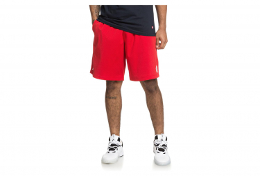 DC Shoes Basketball Short Mesh Red