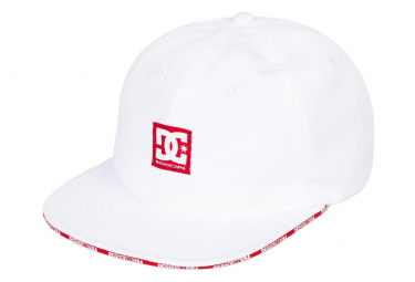 DC Shoes Snapback Sandwich Snow White