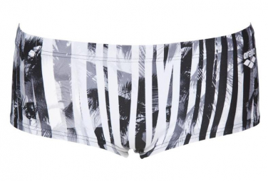 Arena One Riviera Low Waist Aquashort White Black