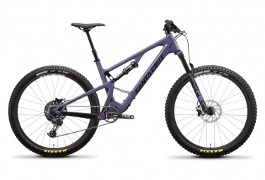 Vtt tout suspendu santa cruz 27 5 5010 3 c r kit plus 12v xs purple 2019 m 165 175 cm