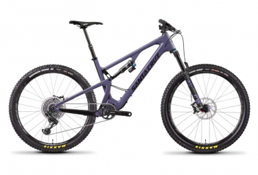Vtt tout suspendu santa cruz 27 5 5010 3 cc xo1 12v xs purple 2019 xs 142 155 cm