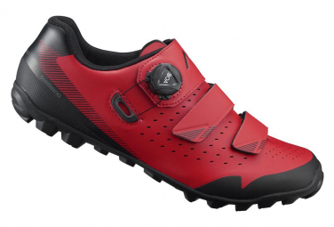 SHIMANO ME400 MTB Shoes Black Red