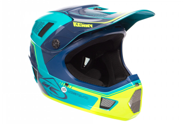 Kenny SCRUB Helmet Blue Yellow
