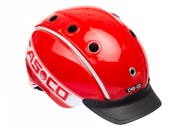 Casque casco mini 2 rouge