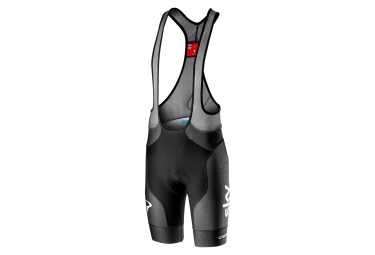 Castelli Free Aero Race 4 Team Sky 2019 Bib Short Black