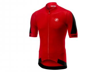 Castelli Volata 2 Short Sleeves Jersey Red Black