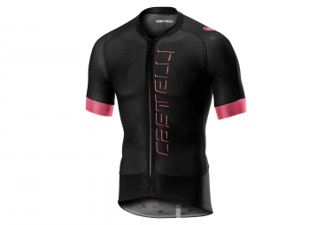 Castelli Climber's 2.0 Short Sleeves Jersey Black Pink