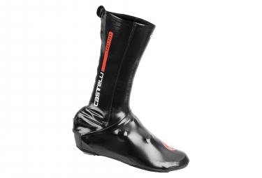 Couvre-Chaussures Aéro Castelli Fast Feet Road Noir