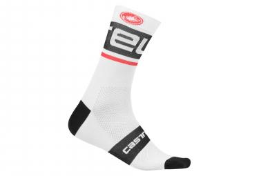 Castelli Free Kit 13 Socks White Black
