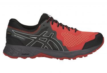 Asics Shoes Trail Gel Sonoma 4 GTX Red Black