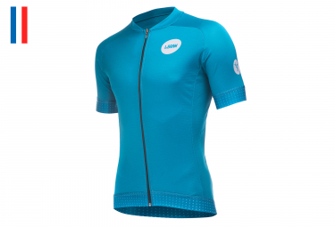 LeBram Allos Short Sleeve Jersey Adjusted Fit Petrole