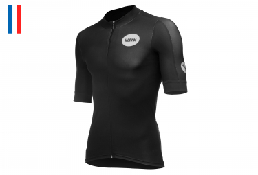LeBram Allos Short Sleeve Jersey Pro Fit Black