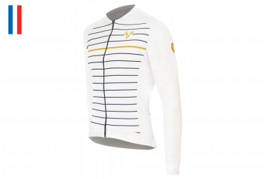 LeBram Ventoux Long Sleeves Jersey White Adjusted Fit