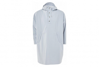Regen Poncho Ice Blue Grey