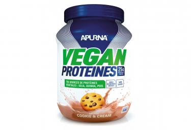 Boisson Proteinee Apurna VEGAN Cookie and Cream 600g