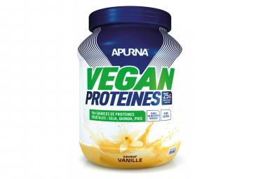 Boisson proteinee apurna vegan vanille 600g
