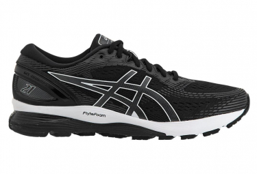 Asics Shoes Run Gel Nimbus 21 Black White