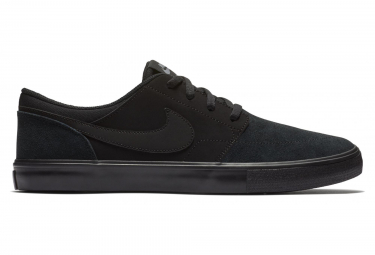 Nike SB Solarsoft Portmore II Shoes Black