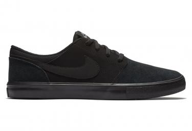 Chaussures Nike SB Solarsoft Portmore II Noir