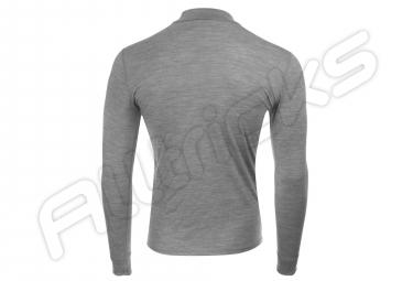 T-shirt Manches Longues Odlo NATURAL 100% Gris melange
