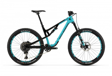 Full Supsension MTB Rocky Mountain 27.5'' Thunderbolt Carbon 90 BC Edition Sram GX Eagle 12V Black/Blue 2019