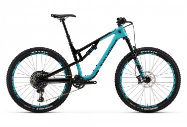 Full Supsension MTB Rocky Mountain 27.5'' Thunderbolt Carbon 70 Sram GX Eagle 12V Black/Blue 2018