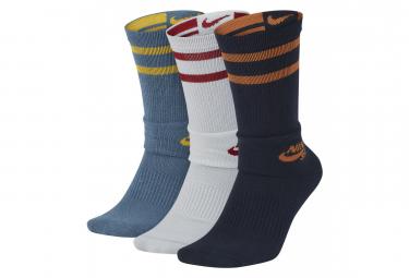 Nike Sb Crew Socks (3 Pairs) Multicolor