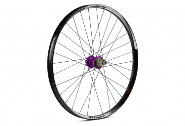 Roue arriere hope tech 35w pro 4 27 5 boost 12x148mm corps shimano sram violet